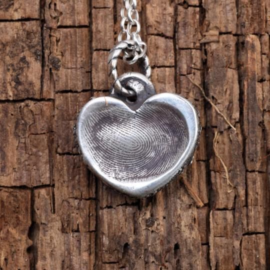 Personalized Mommy's Jewelry Fingerprint Pendant by That's My Impression | Hatch.co