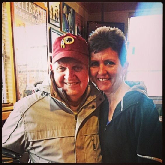 Dad & Sassy Entrepreneur at our Power Lunch - Love him & these times so much :)