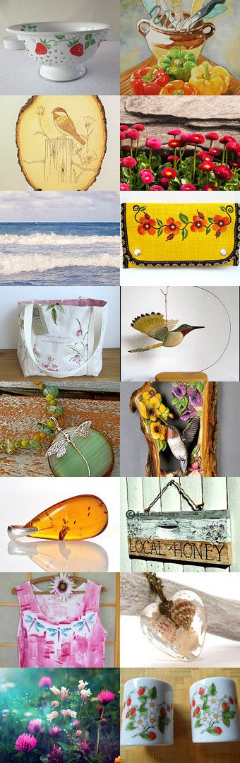 Sweet Sweet Summer! by Marcia on Etsy--Pinned+with+TreasuryPin.com