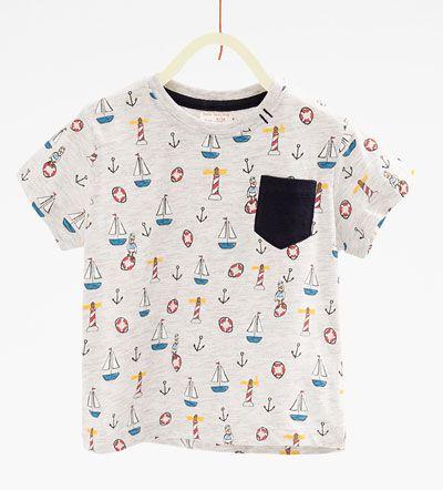 Printed T-shirt-View all-T-SHIRTS-BABY BOY | 3 months-3 years-KIDS | ZARA United Kingdom