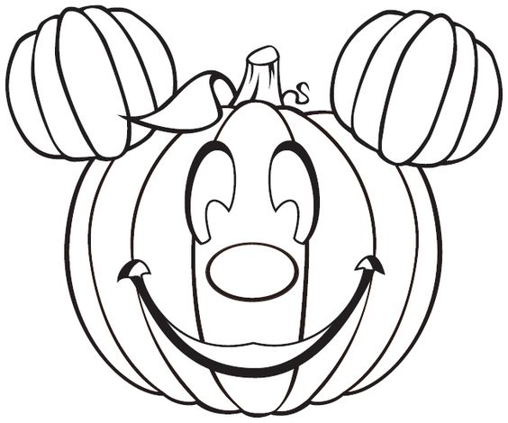 Free Disney Halloween Coloring Pages - Lovebugs and Postcards