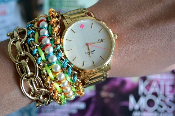 Ugh Kate Spade and chains?! Need all of this now.