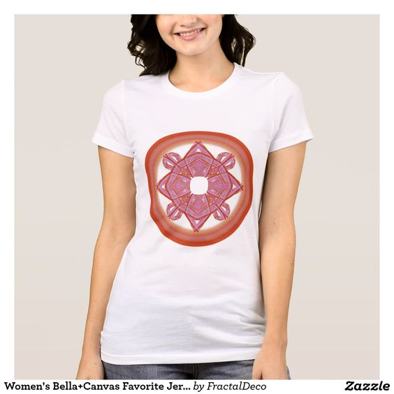 Women's Bella+Canvas Favorite Jersey Sacred T-Shirt