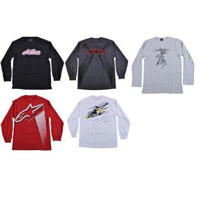 Alpine Stars mens long sleeve tees  http://www.tradeguide24.com/3996___Alpine_Stars_mens_long_sleeve_tees_assortment_24pcs.__AStarLSM___ #alpinestars #fashion #stocklot #wholesale
