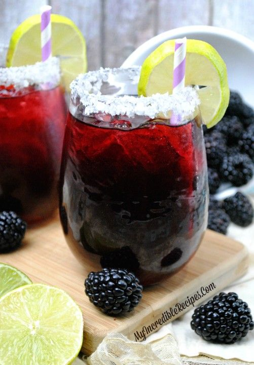 Blackberry Margarita Smash!: