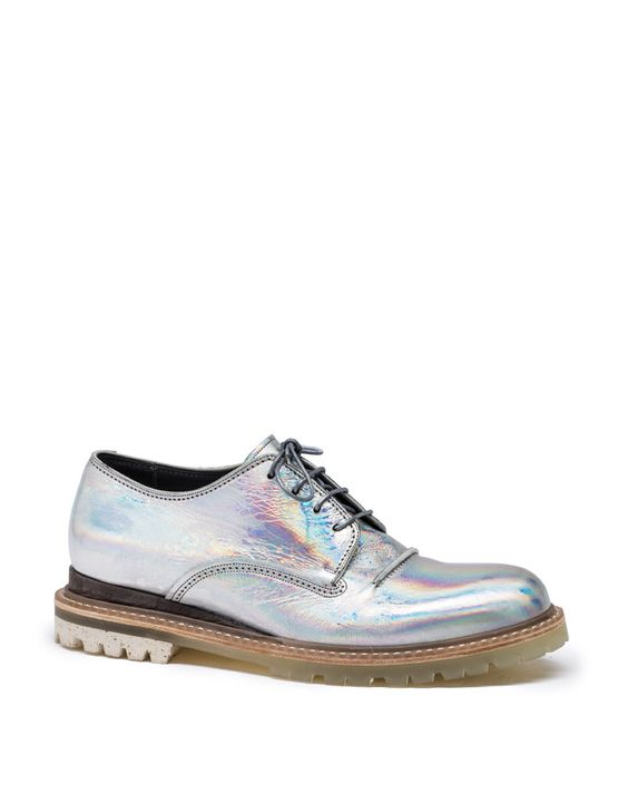Lanvin - HOLOGRAM DERBY - Shoes