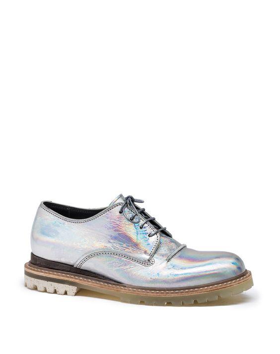 Lanvin - HOLOGRAM DERBY - Shoes