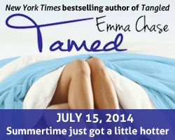 Blog Tour & Review | Tamed (Tangled #3) by Emma Chase {@EmmaChse}  http://www.booksandfandom.com/2014/07/blog-tour-review-tamed-tangled-3-by.html