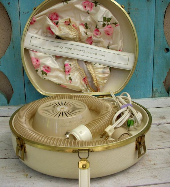 Vintage Hair Dryer-I remember my mom having one of these!