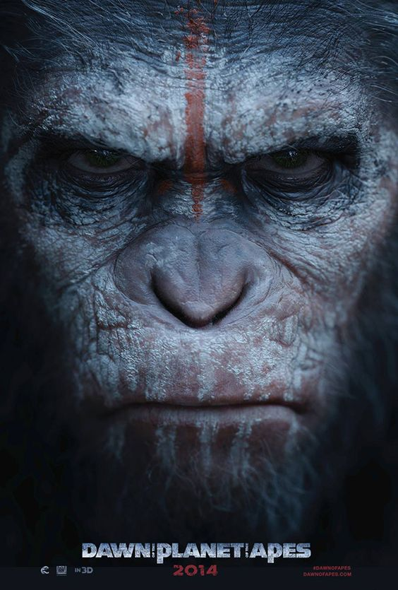 Dawn of the Planet of the Apes - Daniel and I went to see this in the cinema. Very good movie, definitely worth watching if you haven't seen it yet! :)