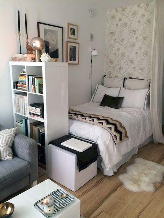 Small Modern Apartment Design Ideas Make Your Dream Come True Apartment Design Dream In 2020 Ideen Fur Kleine Schlafzimmer Schlafzimmer Design Kleines Schlafzimmer
