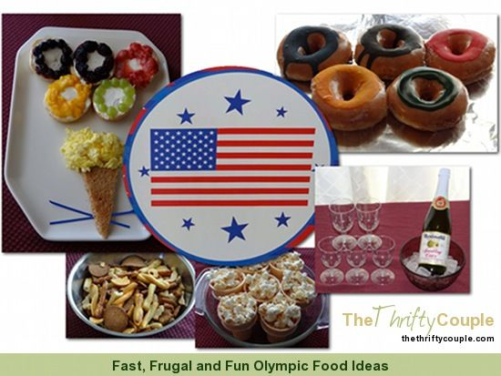 Our family has been *loving* the London 2012 Summer Games!  Come seem some of our food ideas for a fast, frugal and fun Olympic party!