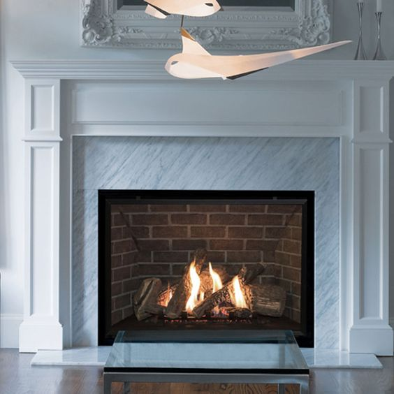 Valor H6 Gas Zero Clearance Fireplace 1 Design Build