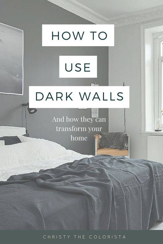 on decorating with dark walls plus the best benjamin moore dark paint
