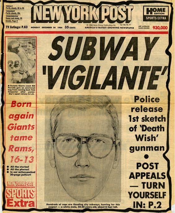 Subway Vigilante