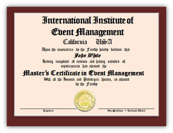 The  Best Event Management Courses Ideas On
