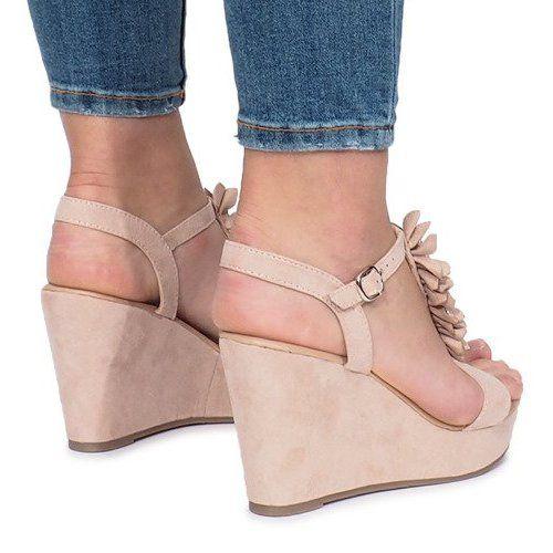 Rozowe Sandaly Na Koturnie Liris Wedge Sneaker Shoes Wedges