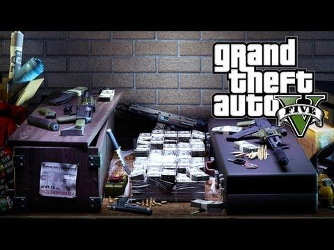 GTA 5 - Exclusive Weapons, Vehicles & Haircuts (GTA V) - http://goo.gl/oLpejV