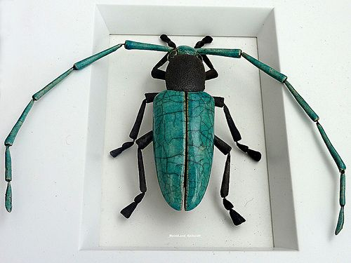 INSECT BEETLE CERAMICS | Flickr - Photo Sharing!