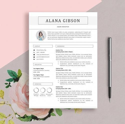 Resume Template Professional And Creative Design Cv For Officedesigns Office Word Orthodontic Office Design Doctor Office Design