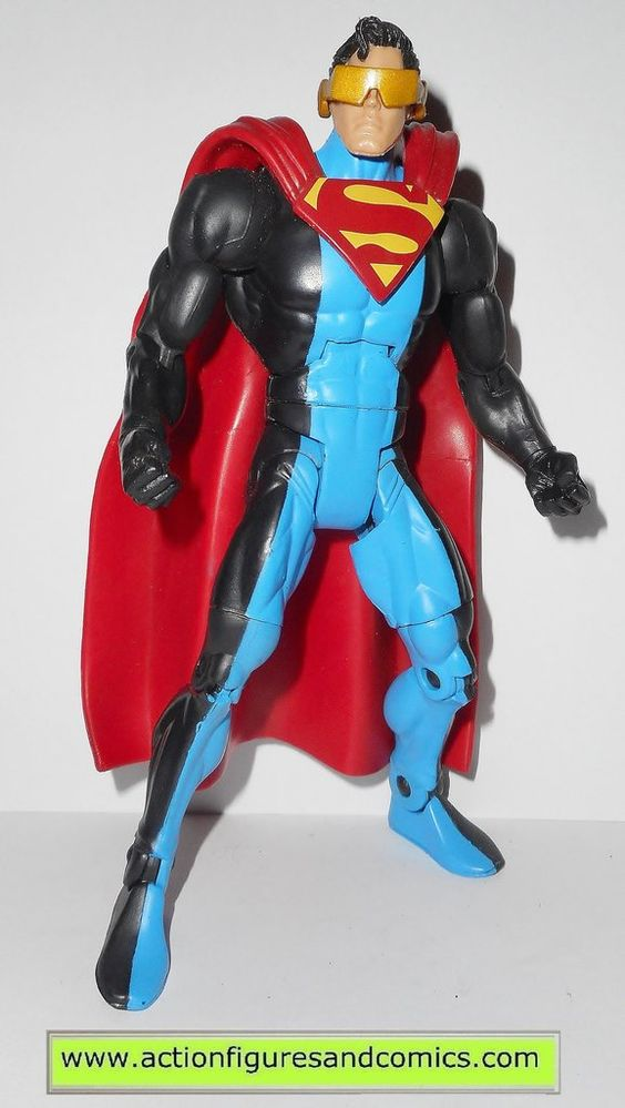 dc universe classics ERADICATOR wave 5 metallo series mattel action figures toys