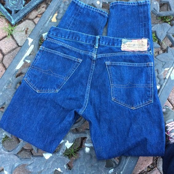 """RL Denim and Supply Jeans When Ralph Lauren started the Denim and Supply line, he introduced industrial chic.  These are a size 32/32.  The waist measures 17"""" flat across the front, inseam is 32.  These are in very nice condition. Lots of life to be lived! Ralph Lauren Jeans"""