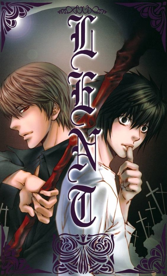 L and Light Death Note Anime Picture