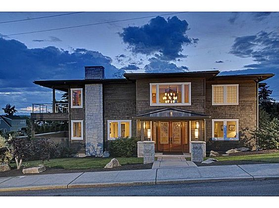 Pacific northwest style dreamy homes pinterest for Pacific northwest home builders
