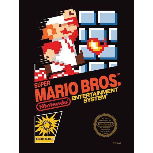 East Urban Home Super Mario Bros Nes Cover Vintage