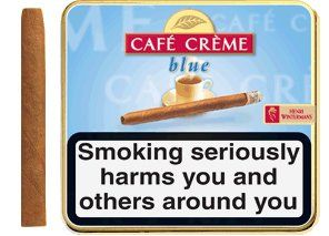 Henri Wintermans Cafe Creme Blue Small Cigarillos (20 Cigarillos) Special Price: £6.99 only.