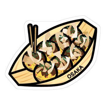 gotochi postcard osaka takoyaki