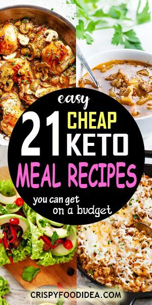 cheap keto meal
