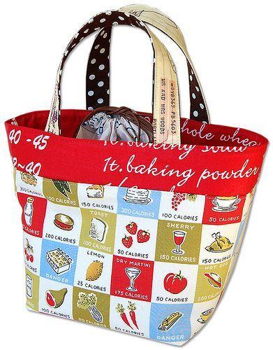 lunch bag tuto couture tricot pinterest sacs lunch tote et tutoriels de couture. Black Bedroom Furniture Sets. Home Design Ideas