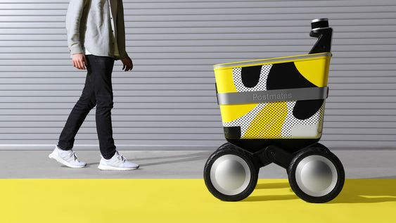 Serve Delivery Robot By New Deal Design And Postmates 제품 디자인 로봇 스케치