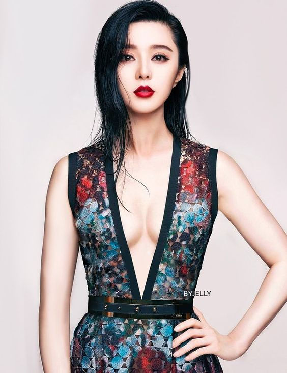 Fan bingbing nipple can not