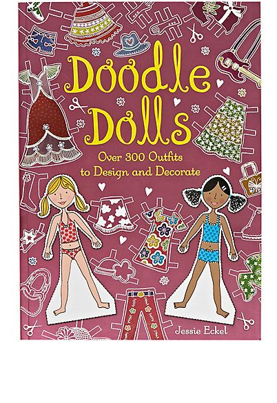 Doodle Dolls: Over 300 Outfits To Design And Decorate - Books & Games - 504354414