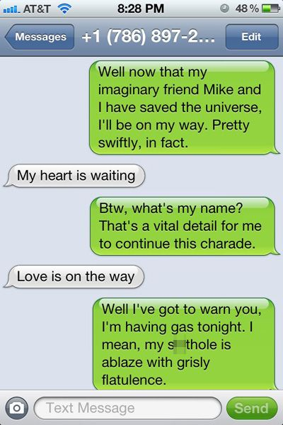 This Is How Not To Talk Dirty When Texting | Teenage posts