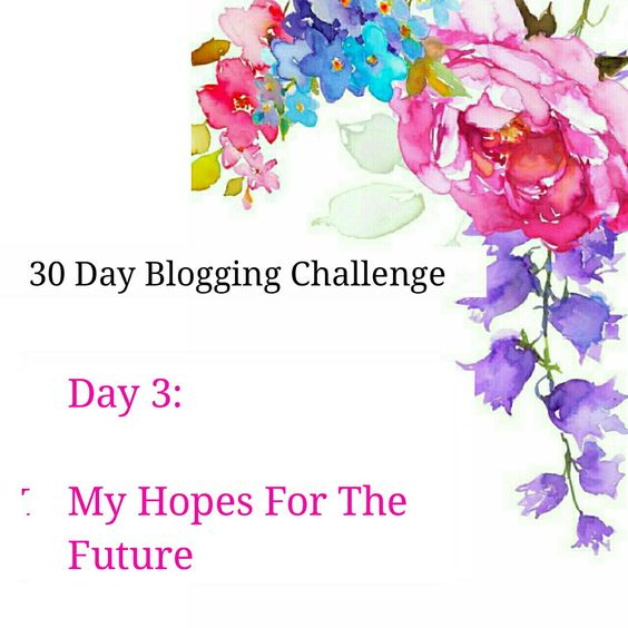 Blogging Challenge Day 3 | My Hopes For The Future
