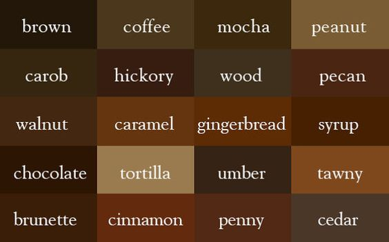 """Writer Creates """"Color Thesaurus"""" To Help You Correctly Name Any Color Imaginable   Bored Panda"""