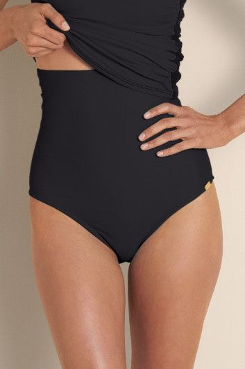Control top bikini bottoms