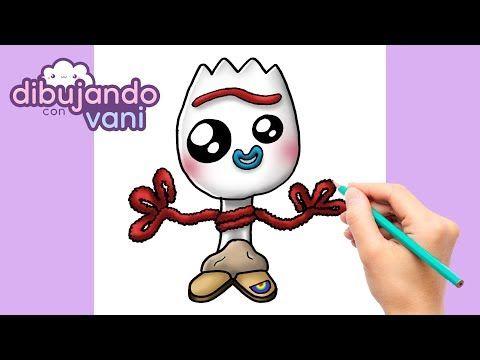Como Dibujar Forky De Toy Story Kawaii Imagenes Anime