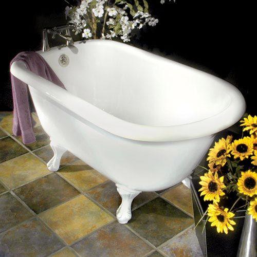 Bennington Acrylic Clawfoot Tub The Smalls Bubble Baths