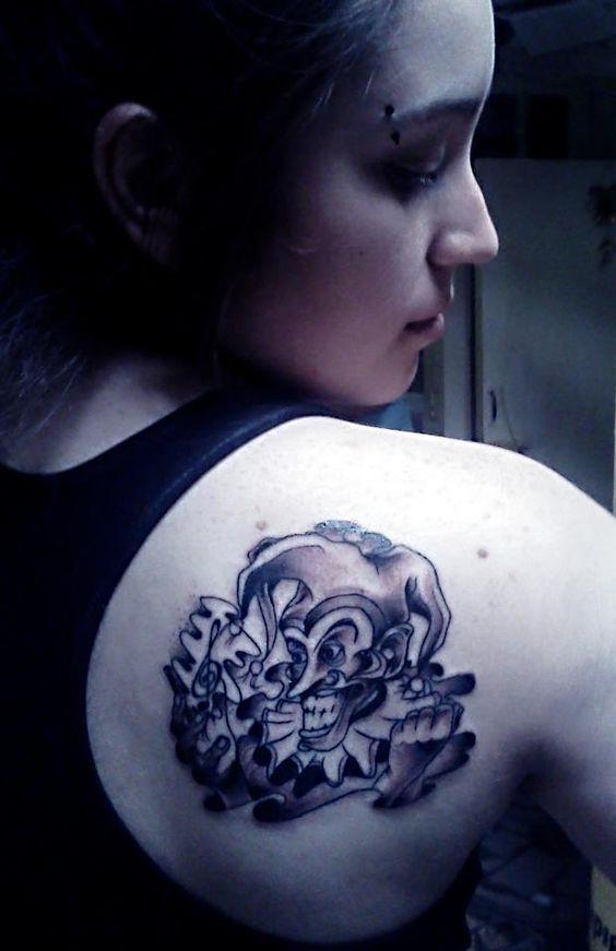 Tatuaje de Bufón