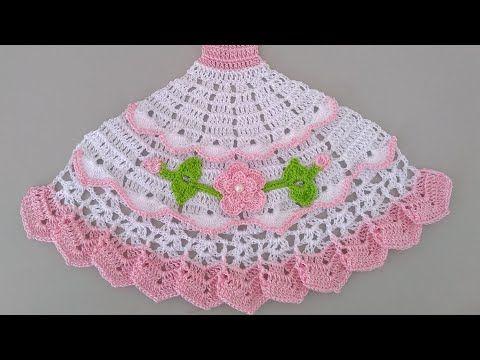 Saia De Croche Para Pano De Prato Parte 1 Youtube In 2021 Crochet Patterns Baby Knitting Patterns Crochet