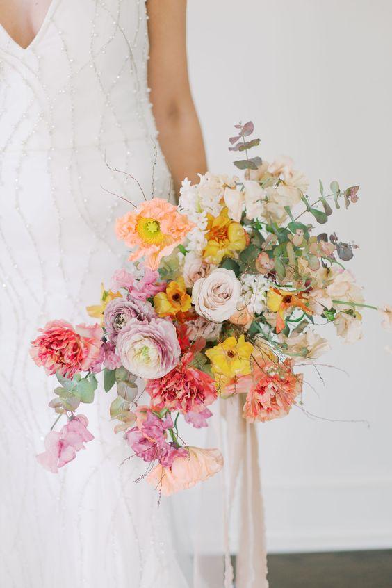 Pearl Wedding Gown by Alyssa Kristin | Florals by Splendor of Eden | Geneva Boyett Photography
