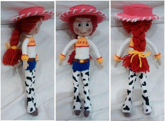 Amigurumi Toy Story : Jessie -Toy Story- amigurumi pattern Amigurumi, Toys and ...