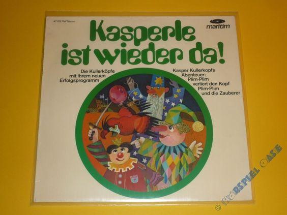 *LP* KASPERLE - Kasperle ist wieder da * maritim * in Bücher, Hörbücher & Hörspiele | eBay