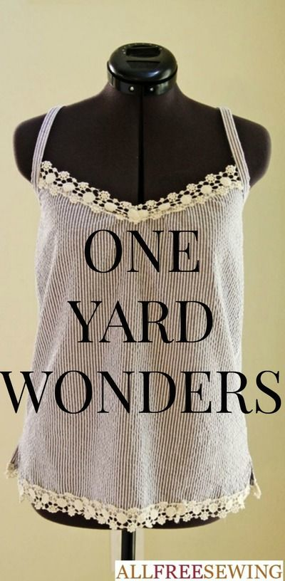 one yard sewing projects At the beginning of each month we'll post two projects on our blogs: a sewing project from one yard wonders: one yard wonders : sew along 2010.