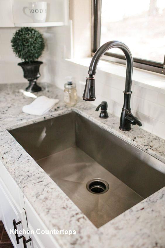 Kitchen Countertop Design Ideas In 2019 Farmhouse Sink Kitchen