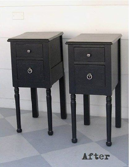 Before & After: Garage Sale Vanity Gets a New Lease on Life — Lovely etc.